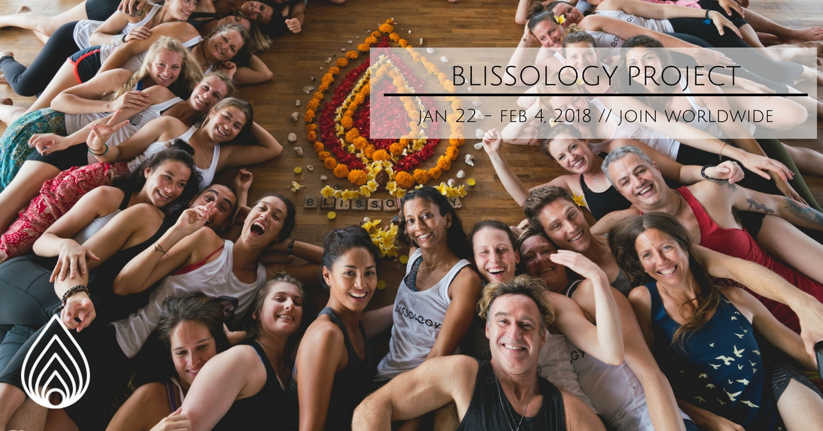 The Blissology Project: An Invite to Grow Happiness & Spread Love (Jan 22-Feb 4)