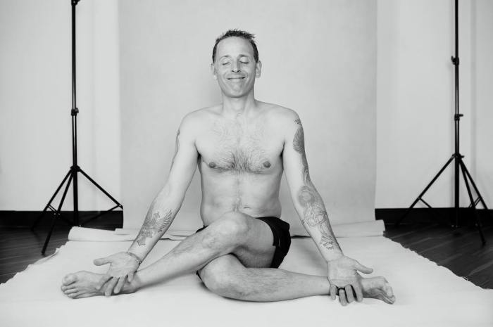 Peaceful Gomokasana